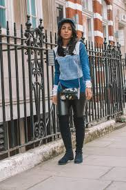 fashion blogger shloka narang of the silk sneaker showcases how to style leather pants in an