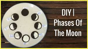 Phases Of The Moon Chart For Kids Diy Phases Of The Moon For Kids 3 Ways