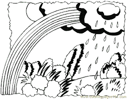 Small Picture Rainbow Coloring Page 02 Coloring Page Free Rainbows Coloring