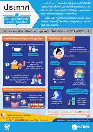 คำแนะนำการป้องกันควบคุมโรคติดเชื้อไวรัสโคโรนา 2019 (COVID-19) - KTBGS