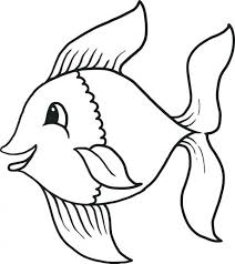 Free Printable Fish Coloring Pages Unique Fish Coloring Page For
