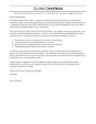 Law Enforcement Resume Cover Letter Examples Primeliber Com
