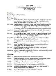 Resume Examples Interests Welcome Vision Doc Hobbies And Bizdoska
