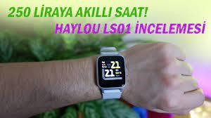 Haylou LS01 Akıllı Saat Detaylı İncelemesi: Fiyatına Göre Çok İddialı! -  YouTube