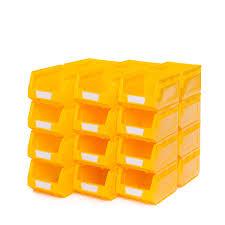 ... Uncategorized Workshop X No Plastic Storage Bins Yellow Bis130215w  Bis130215 Stackable Uline With Wheelsstackable For Sale