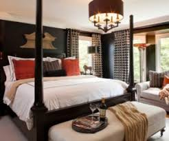 ... How to decorate a bedroom with black walls