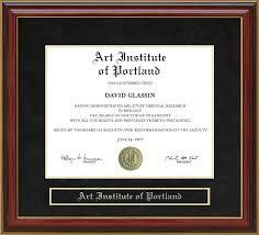 art institute of portland mahogany diploma frame wordyisms art institute of portland mahogany diploma frame