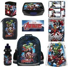 Zvýhodněná školní Sada Avengers 8 Ks Dárky Pro Radost Jiřina Kopuletá