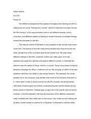 cinema introduction to cinema texas tech page  3 pages essay 2 cinema