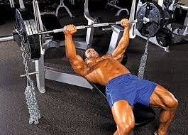 Why Do People Put Chains On The Barbell While Lifting  507 FitnessChains Bench Press