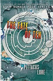 amazon the fate of ten lorien legacies 9780062194763 pittacus lore books