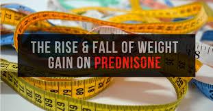 weight gain on prednisone
