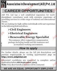 Civil Engineers, Electrical Engineers Job Opportunity 2018 Jobs Pakistan
