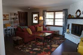 Living Room Furniture Arrangement With Tv Fireplace Fireplace In Living Room Or Family Room Simple Style