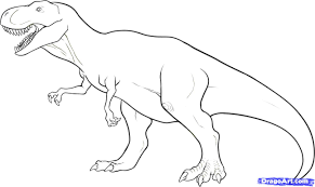 Small Picture Tyrannosaurus Rex Coloring Page Best 10696