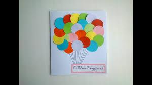 simple birthday paper card handmade gifts paper diy crafts art tutorials