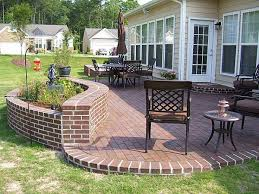 Small Picture Using Bricks in the Garden Smart Ideas for Garden Design