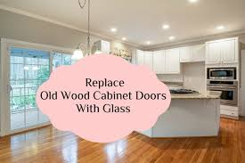replace your old wood cabinet doors