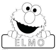 Sesame Street Coloring Pages Reading Page Baby A Book In Sesame