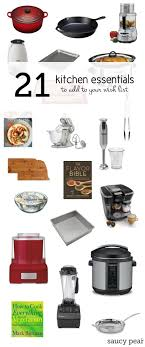 Gift For Kitchen 21 Kitchen Essentials A Gift Guide From Food Bloggers Saucy Pear