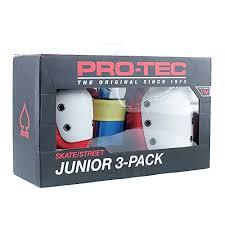Gear Pro Tec Edge Pro 5 Pad Girdle Size Chart Pro Tec Pads Street Gear Junior 3 Pack Protections Unisex Kids Retro Ys