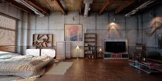 Stunning Industrial Loft Apartment Images Iotaustralasiaco - Industrial apartment