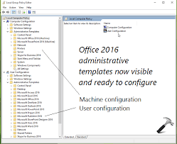 Microsoft 2013 Templates Guide Install Office 2016 Group Policy Templates In Windows 10