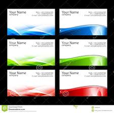 Business Cards Templates Stock Illustration Illustration Of Paper