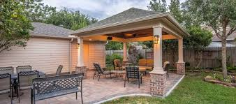hip roof patio cover in copperfield
