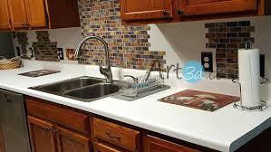 self adhesive kitchen backsplash wonderful decoration l and stick tile backsplash self adhesive