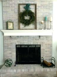 update red brick fireplace paint brick fireplace before after fireplace remodel ideas for any budget paint
