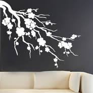 cherry blossom wall stickers on artistic wall decal with large wall decals giant wall stickers xxl dezign with a z