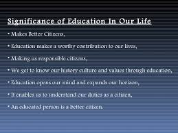 importance of education essay importance of education org importance of education