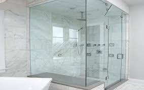 glass shower doors clean transpa glass shower space glass shower doors frameless home depot