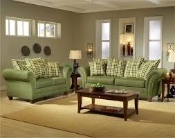 ... Interesting Ideas Green Living Room Furniture Pretty Living Room With  Green Sofa ...