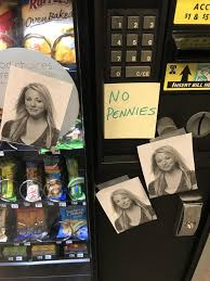 Do Vending Machines Take Pennies Inspiration On The Vending Machine At Work 48GAG