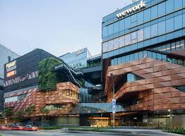 Design Concept For Commercial Building Woods Bagot Has Created A Multi Faceted Design Concept For Funan