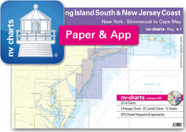 Shinnecock Bay Nautical Chart Nv Charts Reg 4 1 New Jersey Coast New York Long Island South To Cape May