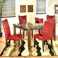 Red dining table set Room Chairs Modern Red Dining Chairs Contemporary Leather Parsons Chair Room Set Sets Lea Fevcol Leather Dining Room Set Fevcol