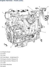repair guides wiring systems (2007) harness routing views Le5 Wiring Diagram engine harness front le5 (2007) LE5 Underdrive Pulley
