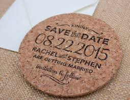 Custom cork coasters Drink Coasters Brittney Nichole Designs Handstamped Cork Coaster Save The Date Aliexpress Custom Handstamped Cork Coaster Save The Date