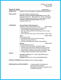 Bank Teller Resume Sample With No Experience Intended For 17