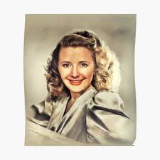 "Priscilla Lane, Vintage Actress"" Sticker by SerpentFilms | Redbubble"