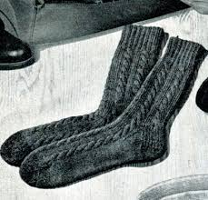 Knitted Sock Patterns Unique Cable Socks Pattern Knitting Patterns