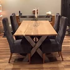 industrial dining furniture. X Frame Industrial Dining Table Furniture C
