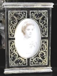 silver antique picture frames. 4 X 6 Photo Frame Vintage Style Black Glass Freestanding 6\u2033 Silver Antique Picture Frames