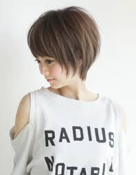 小顔ショートヘアyr 305 ヘアカタログ髪型ヘアスタイルafloat