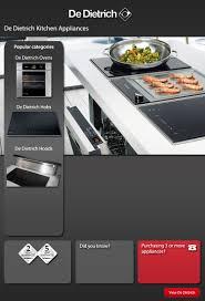 De Dietrich Kitchen Appliances De Dietrich Kitchen Appliances