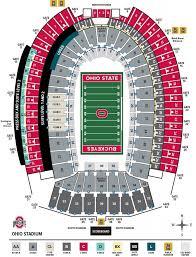 Ohio Stadium Seating Chart Seating Chart