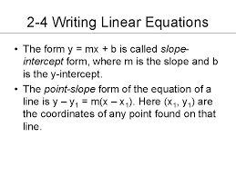 chapter 2 graphing linear relations and